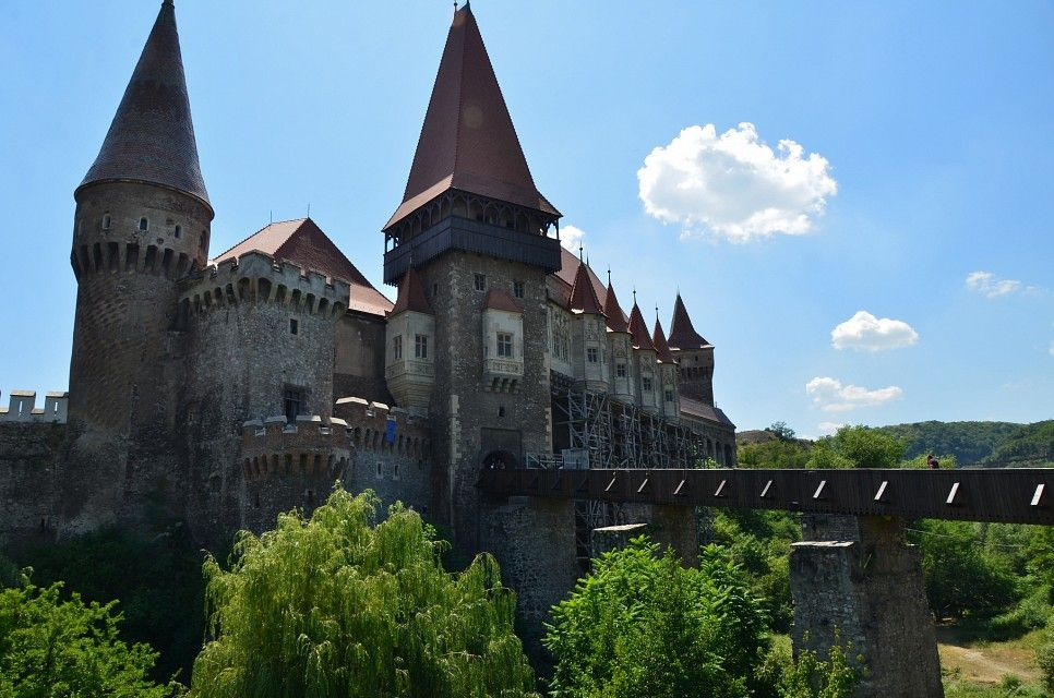 Corvin Castle, Hunedoara, Transylvania, 15ht century (5). Photo by Richard Mortel