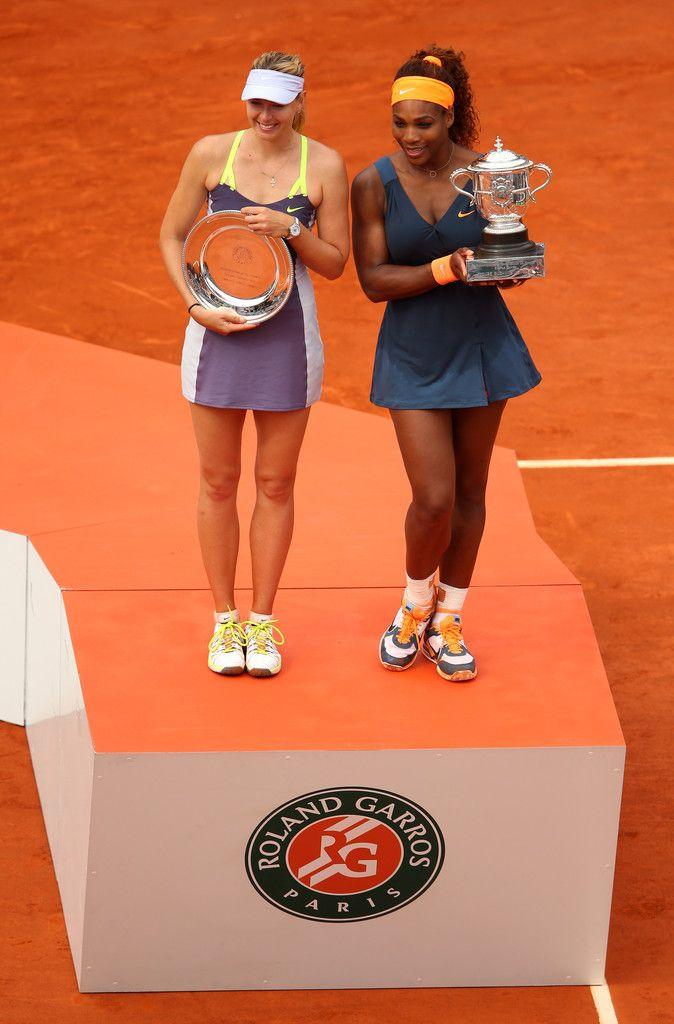Serena Williams Maria Sharapova Photos: 2013 French Open - Day Fourteen