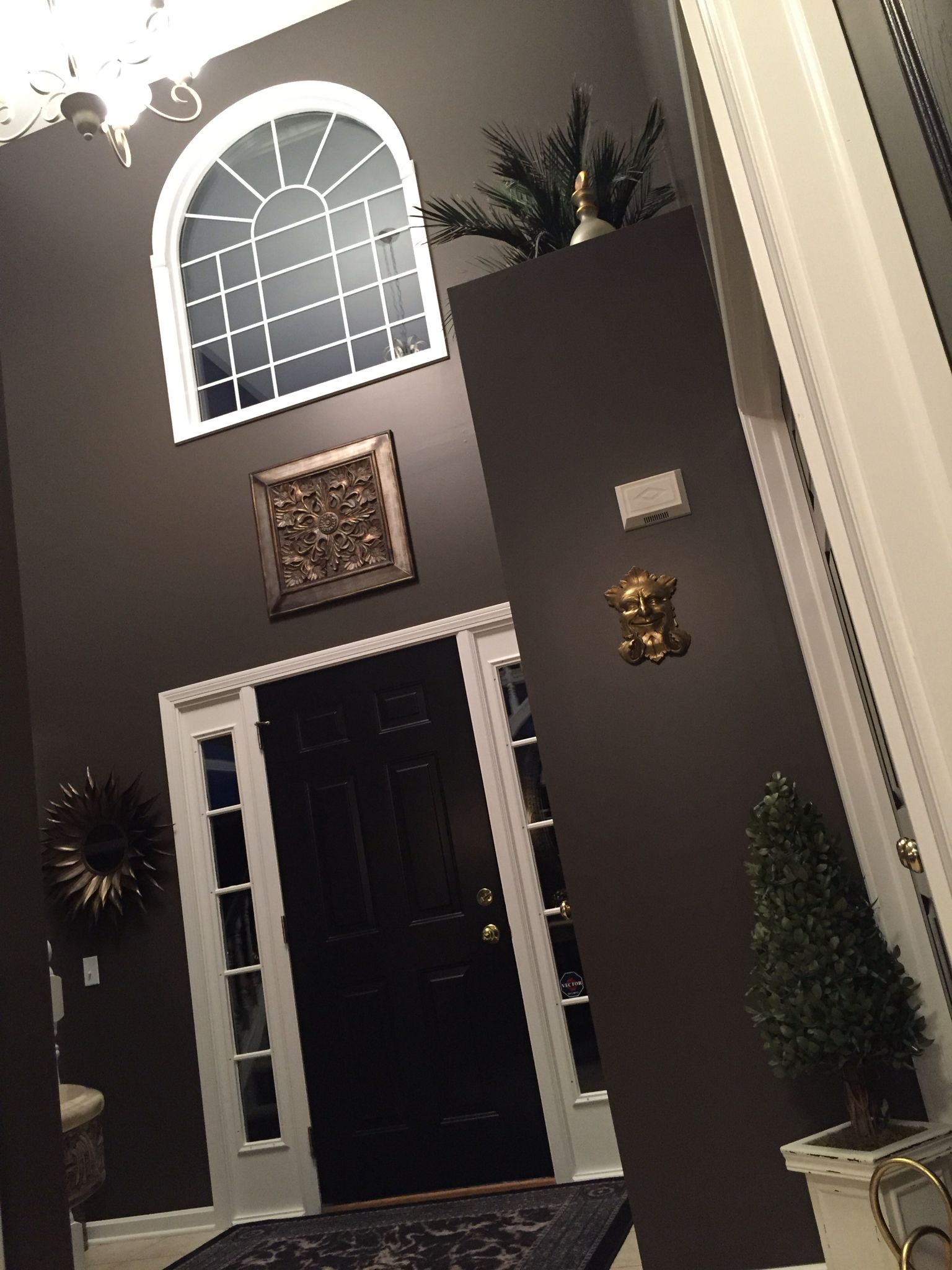 Tricorn Black Sherwin Williams Luxurious Updated Interior Using Sherwin Williams Paintthe