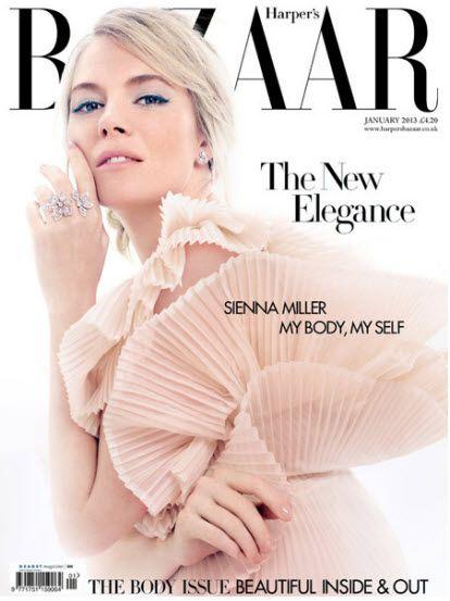 Sienna Miller covers Harper's Bazaar UK