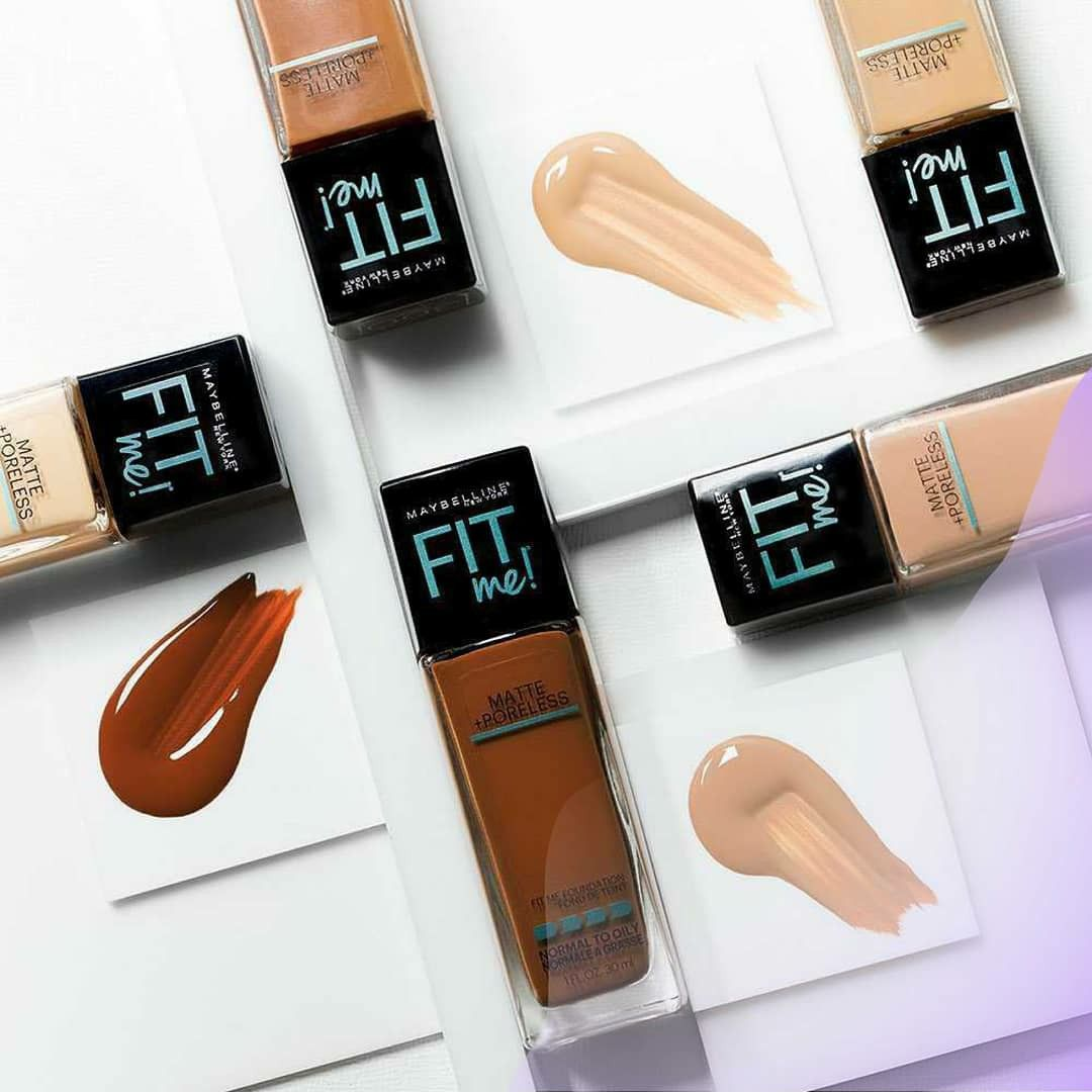Foundation Maybelline Fit Me Foundation Fit Me Matte And Poreless Maybelline