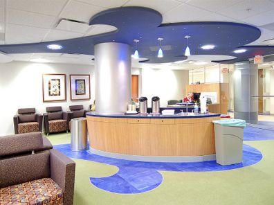 Center For Children S Surgery At Beaumont Hospital In Troy Mi Children Hospital Design Hospital Design Dental Design