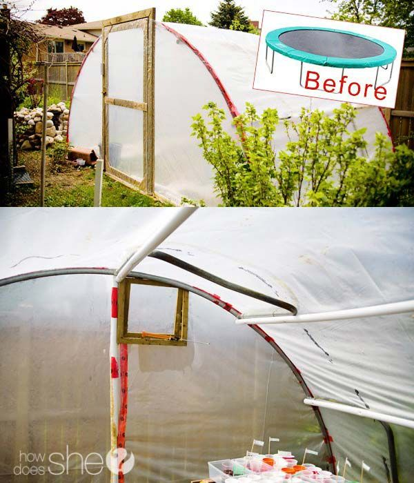 17 Simple Budget-Friendly Plans to Build a Greenhouse   Gardens ...