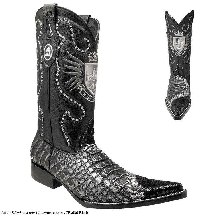 ede54f5651 JB-636 - Botas Vaqueras Exoticas para Hombre. Find this Pin and more on  Western Boots   Botas Vaqueras by AMOR SALES.