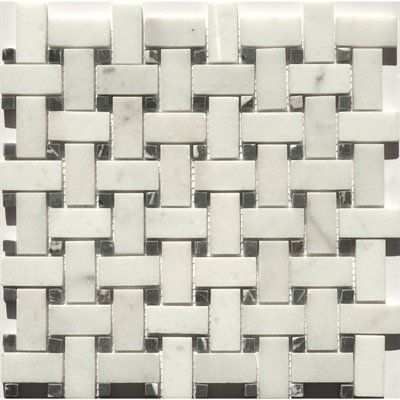 Lowes Basket Weave Marble Tile Good Price Need To Check Out Colour