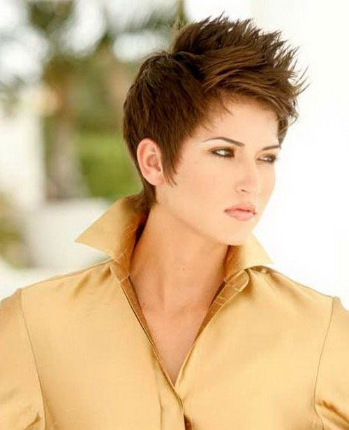 Chic short spiky hairstyles for women | hair styles | Pinterest ...