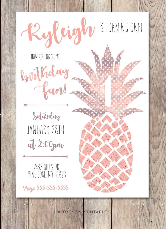 Boho Birthday Party Invitation, Vintage Birthday Party Invite ...