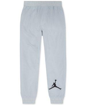 5288ff9a4a4 coupon code for jordan more than mesh jogger pants big boys 8 20 gray xl  c44c4