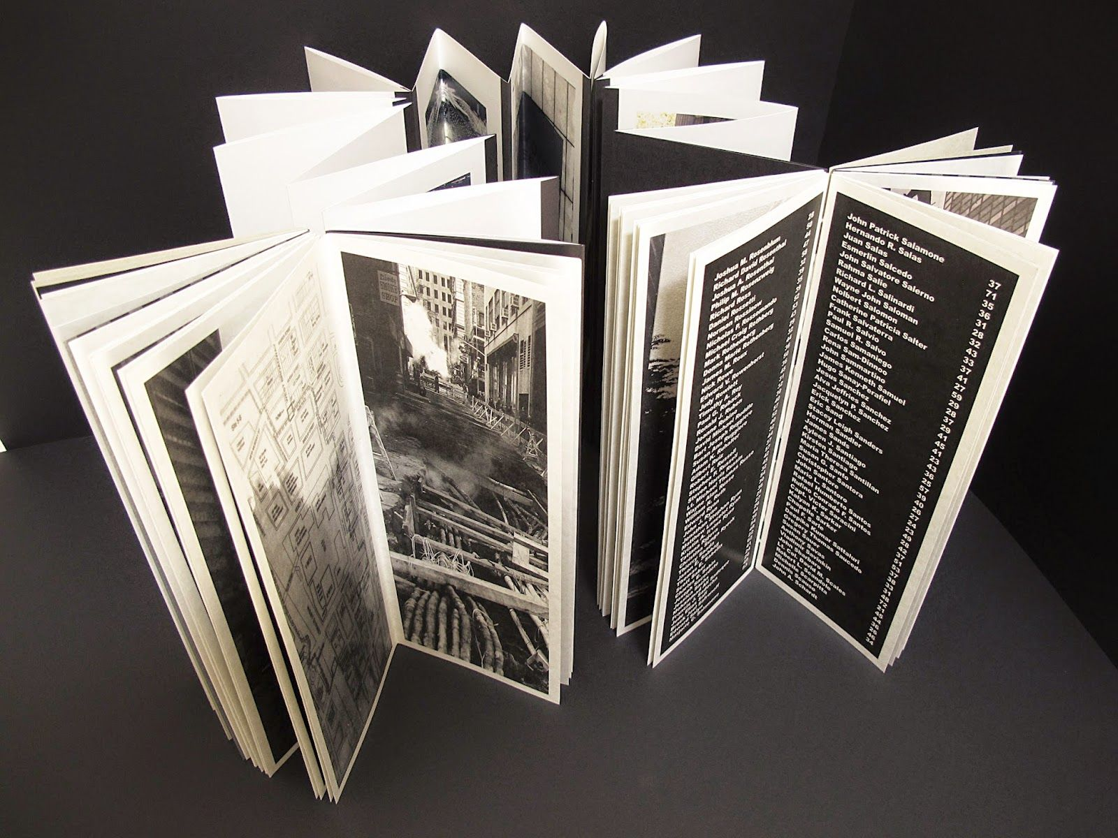 ARLIS/NA Book Art SIG blog post: Hecatombe 9-11: Artist's Book at the National 9-11 Memorial Museum