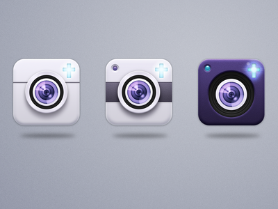 Dribbble - App Icon Options by Brian Vanaski