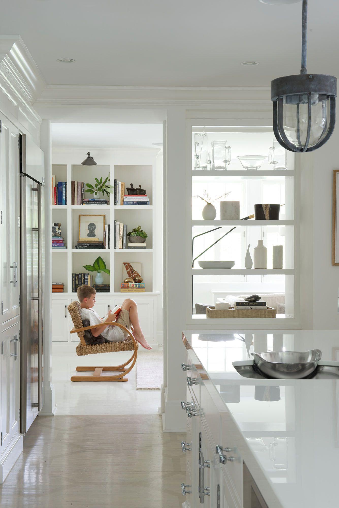 Open door policy in 2019 reno kitchen pass kitchen - Open shelving living room ...