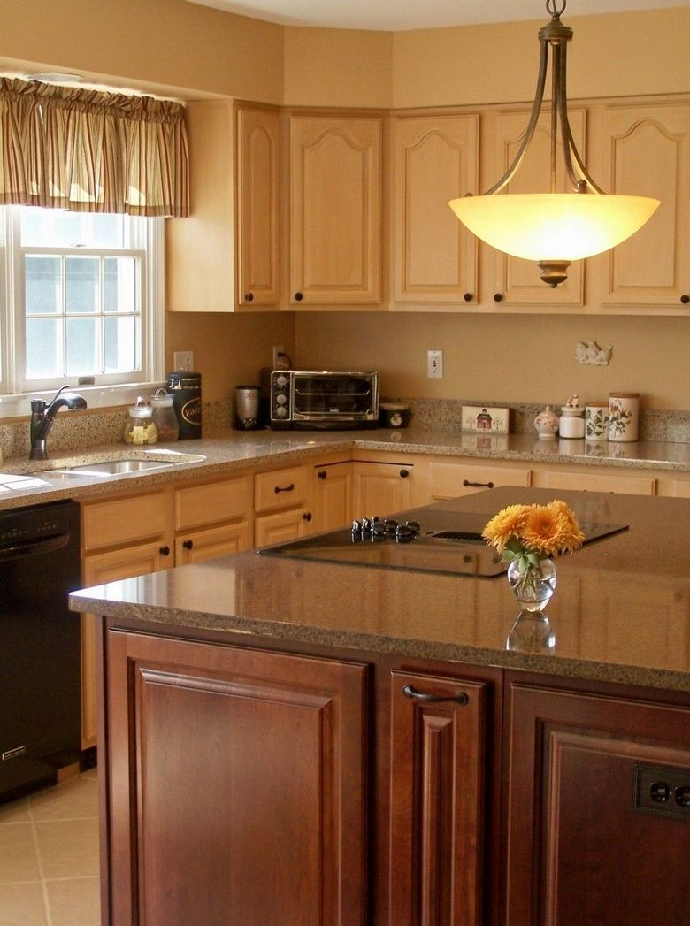 87 Ideas For Backsplash For Black Granite Countertops And ... on Maple Kitchen Cabinets With Black Granite Countertops  id=54320