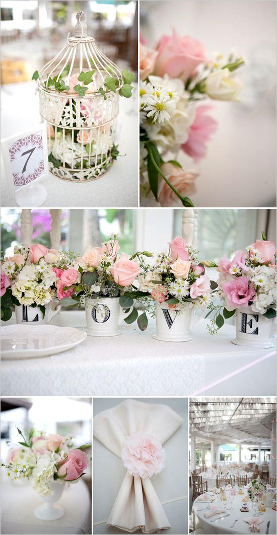 shabby chic garden wedding schlafzimmer pinterest hochzeit deko tischdeko hochzeit und. Black Bedroom Furniture Sets. Home Design Ideas
