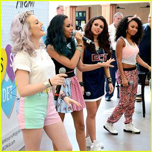 Pin by taylor craig on little mix pinterest little mix miami meet greet photo little mix arrive at their meet and greet held at dolphin mall on saturday afternoon june in miami fla m4hsunfo