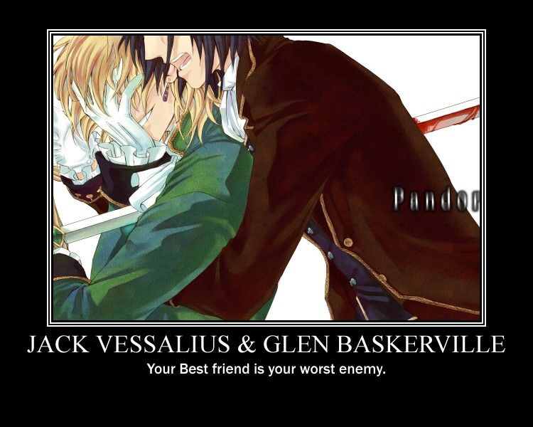 jack_vessalius_and_glen_baskerville_by_dark_reality_04. Your best friend is your worst enemy.