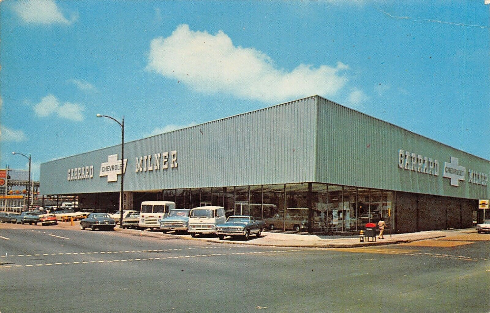 1967 Garrard Milner Chevrolet Dealership, New Orleans