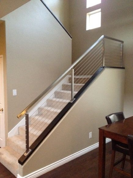 Image Result For Inexpensive Stair Railing To Code