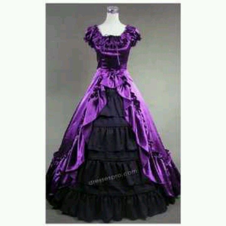 Halloween Masquerade Ball Gown PURPLE ! For my Kacie Lynn! | I ...