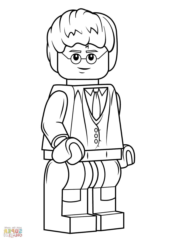 Coloriage Lego Harry Potter 10 Ordinaire Coloriage Lego