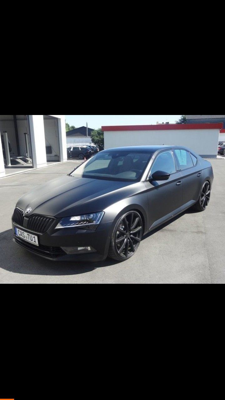 Skoda Skoda Superb Skoda Car Wrap