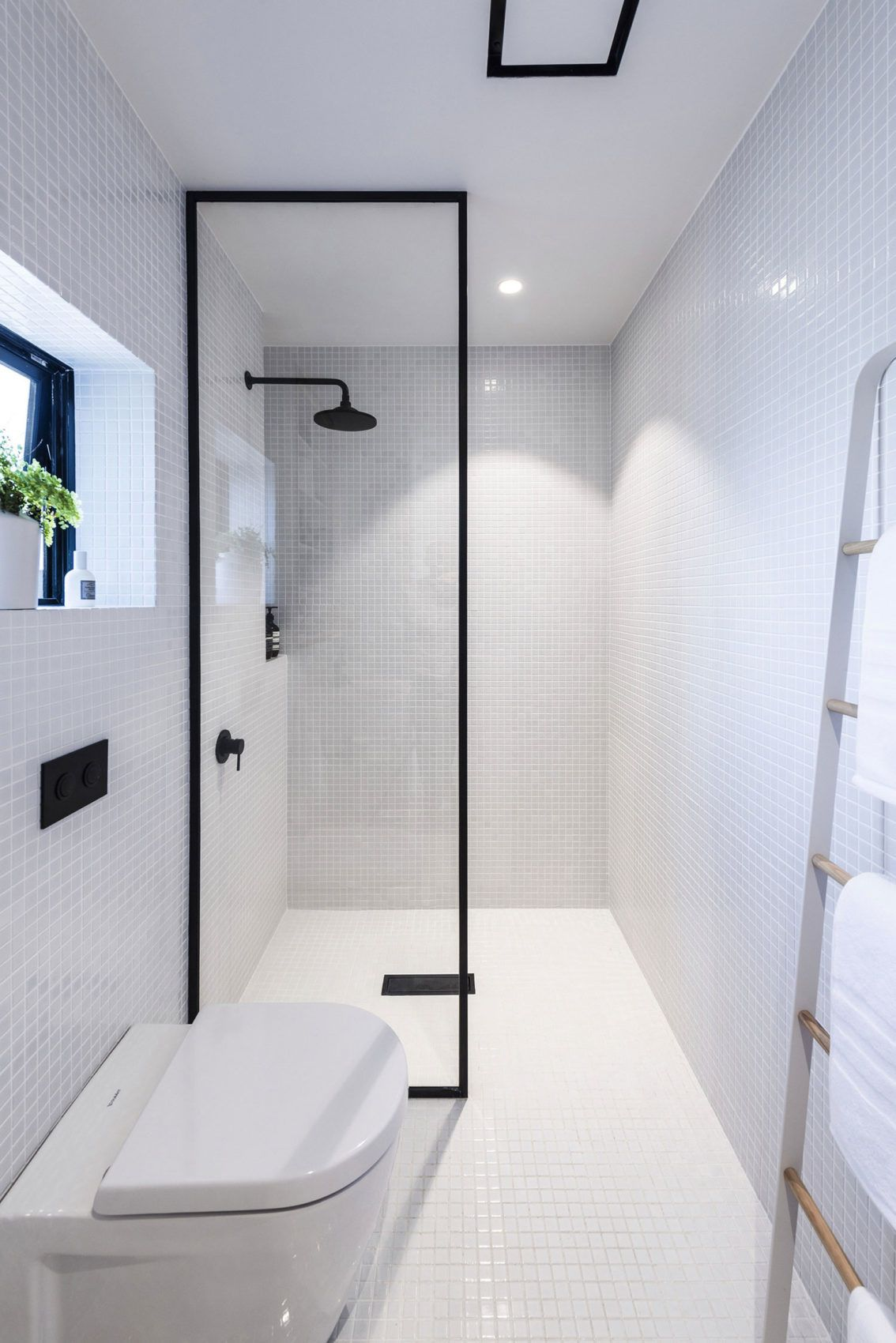 Small House In New Zealand Designed By Colab Arquitectura Urban Cottage Bathroom Interior Design Architecture Bathroom
