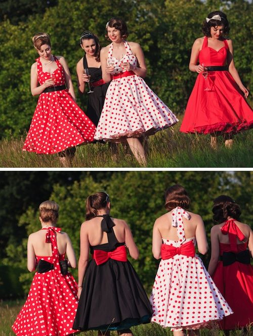 Cute Rockabilly Dresses My Bridesmaids Will Totally Wear