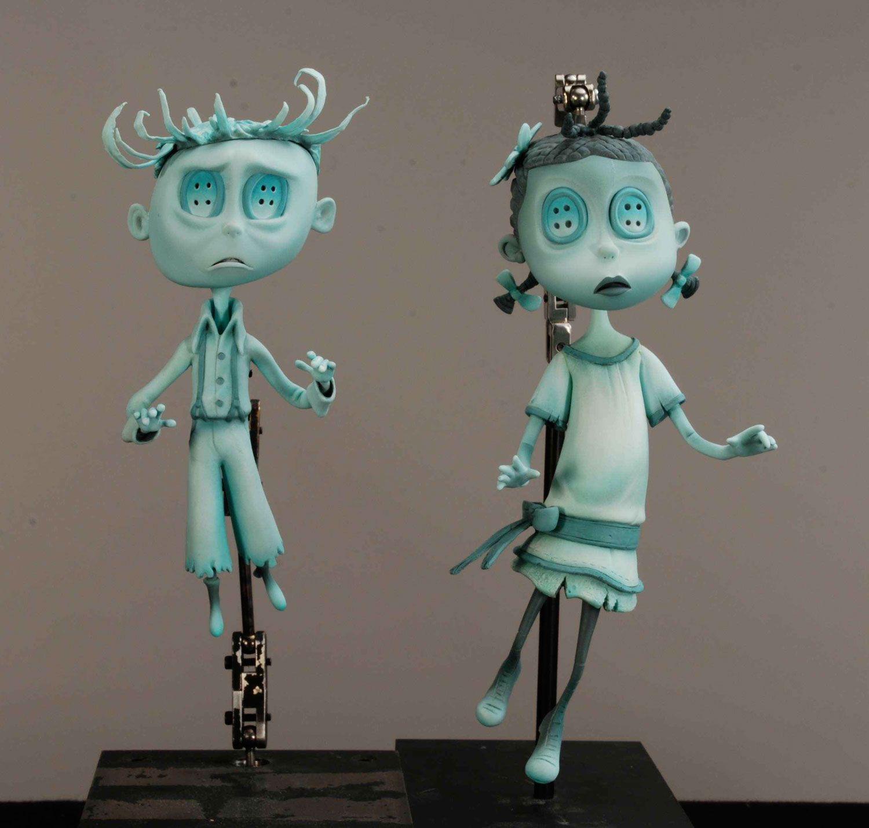 Ghost Kids Angela Kiely Stop Motion Coraline Doll Doll Scenes