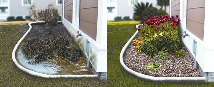 Backyard water drainage solutions ... | Drainage solutions ...