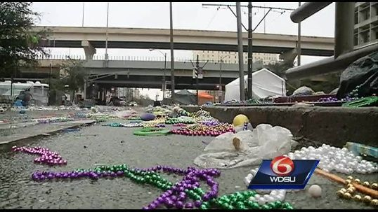 City seeks temporary employees for Mardi Gras cleanup operations | New Orleans - WDSU Home