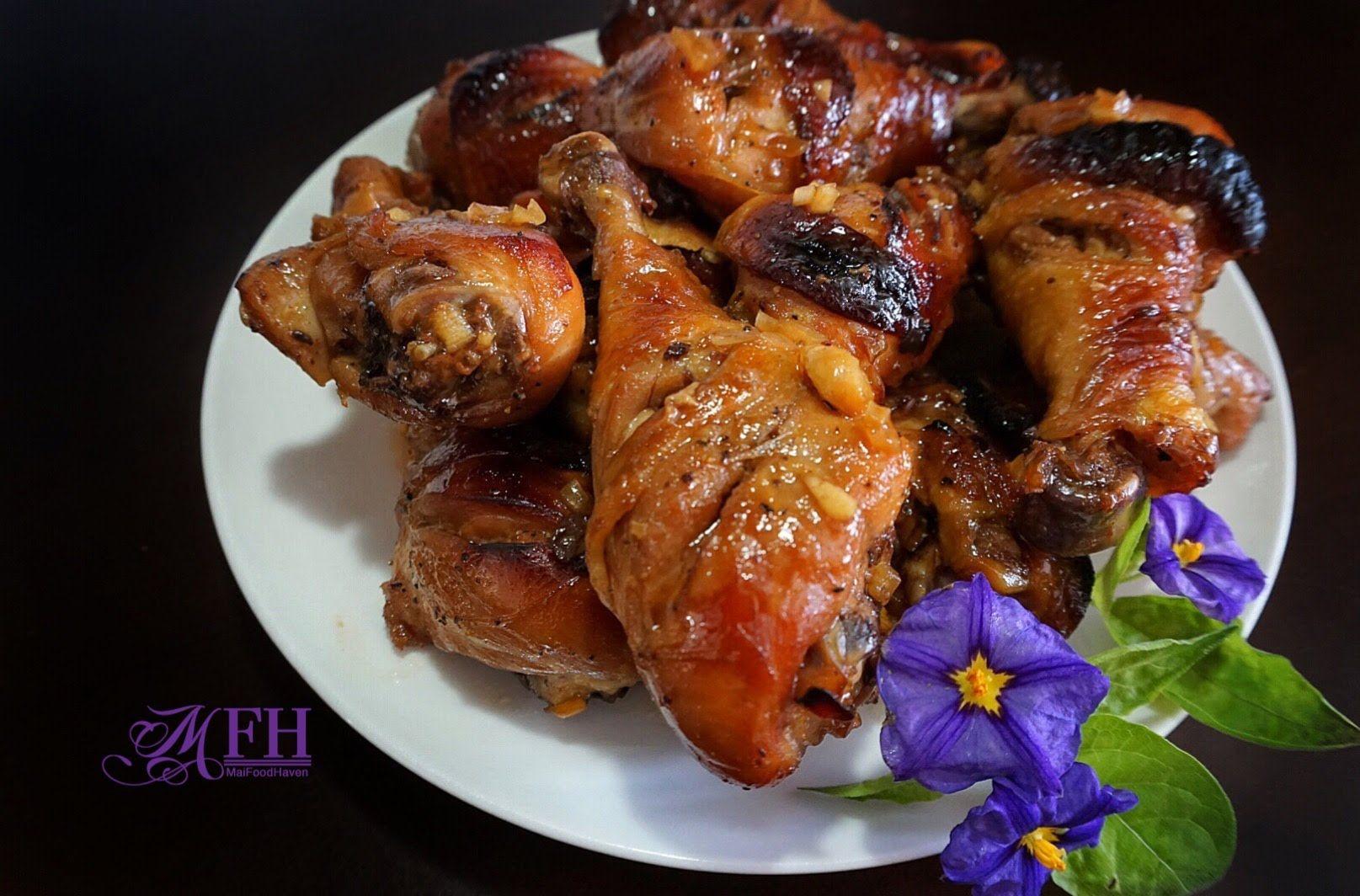 nice Philips Air Fryer - Chicken Drumsticks #Chicken  #Recipes