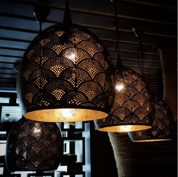 Light Fixtures Dubai: IG @ Natashaluvv Is A Fan Of These Gorgeous Lamps At