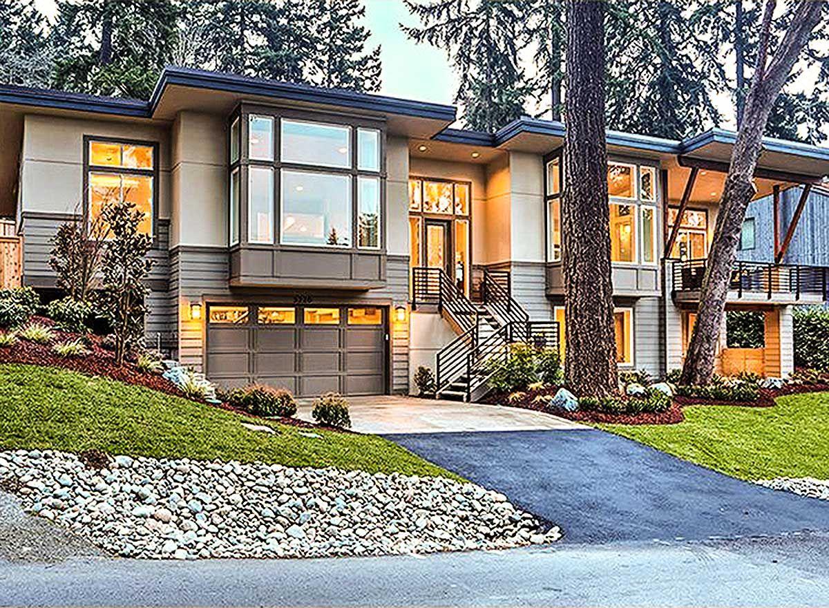 Architectural design house plans Plan 23556JD Modern