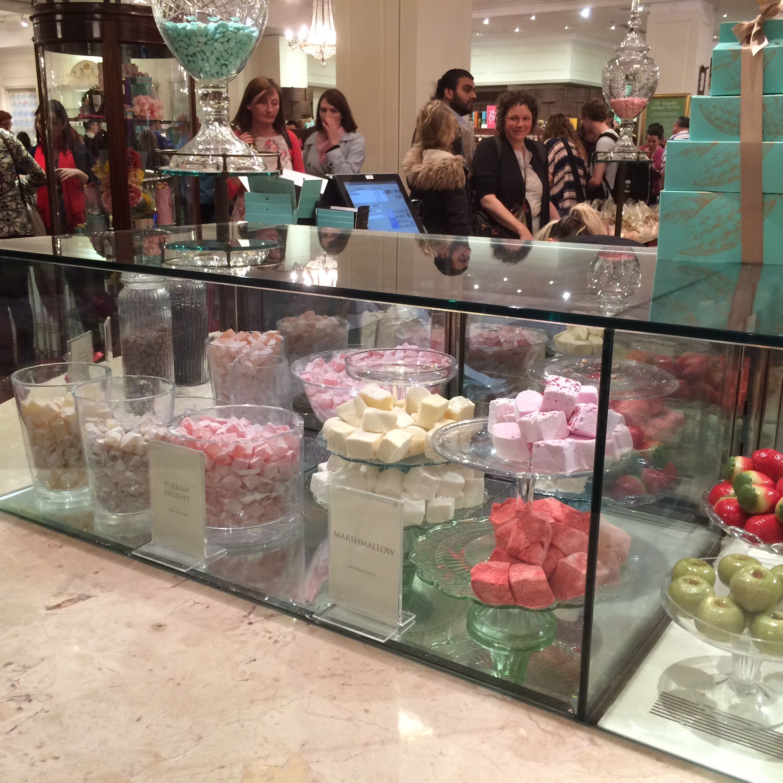 Selfridges, sweets, candies, chocolate