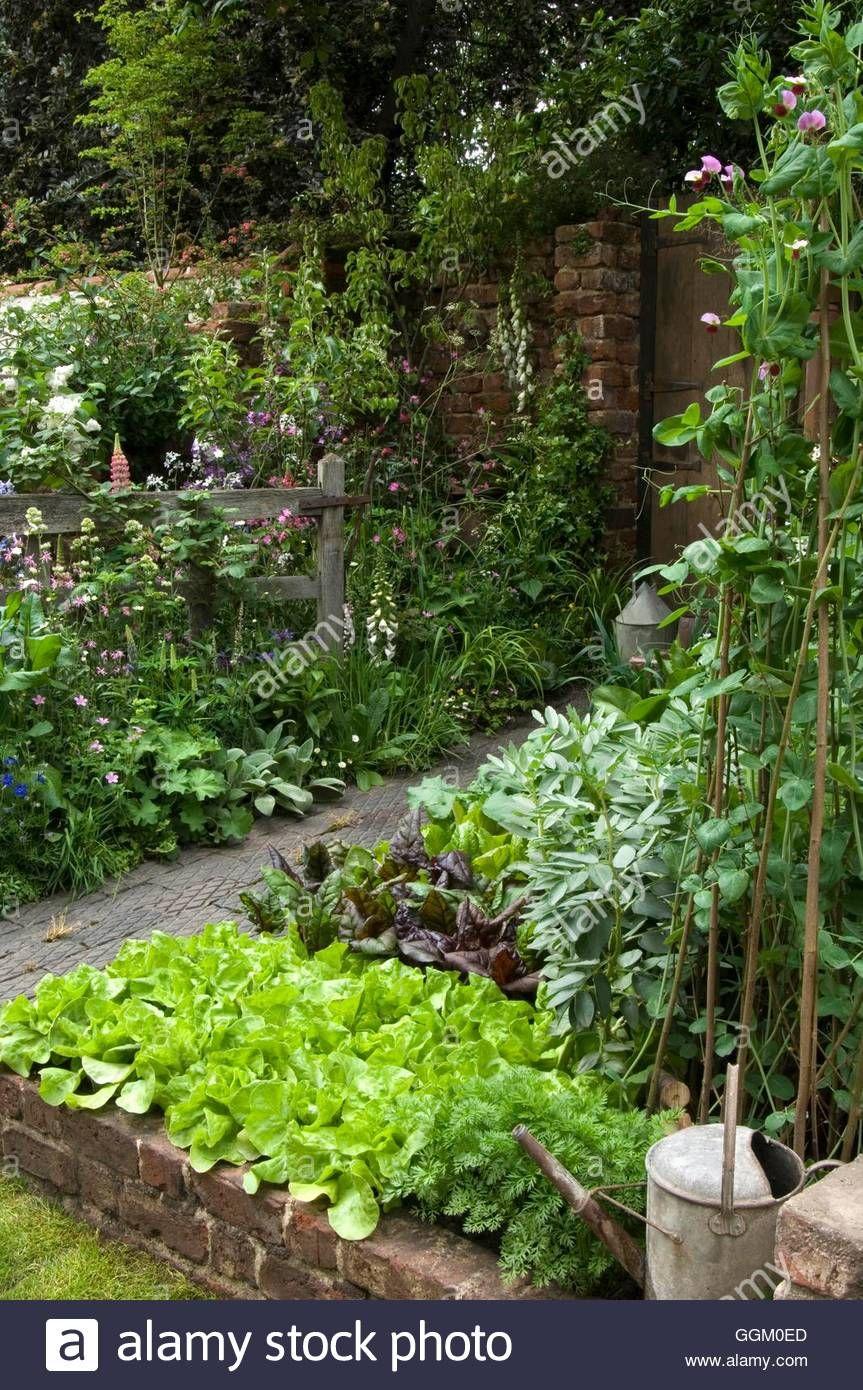vegetable and flower garden- - the old gate garden exhibit at