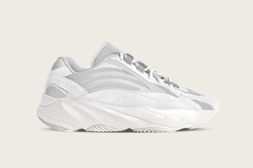adidas Yeezy Boost 700 White Gum Triple Black Sneaker Bar