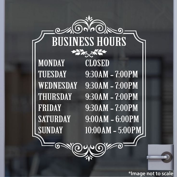 hours of operation sign template best 25 business ideas on Cuts n