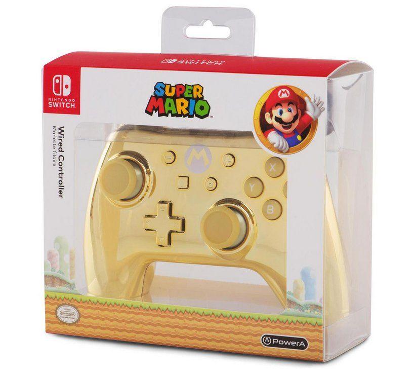Buy Powera Nintendo Switch Mario Controller Chrome Gold Nintendo Switch Acces Nintendo Switch Accessories Nintendo Switch Super Mario Nintendo Switch Games