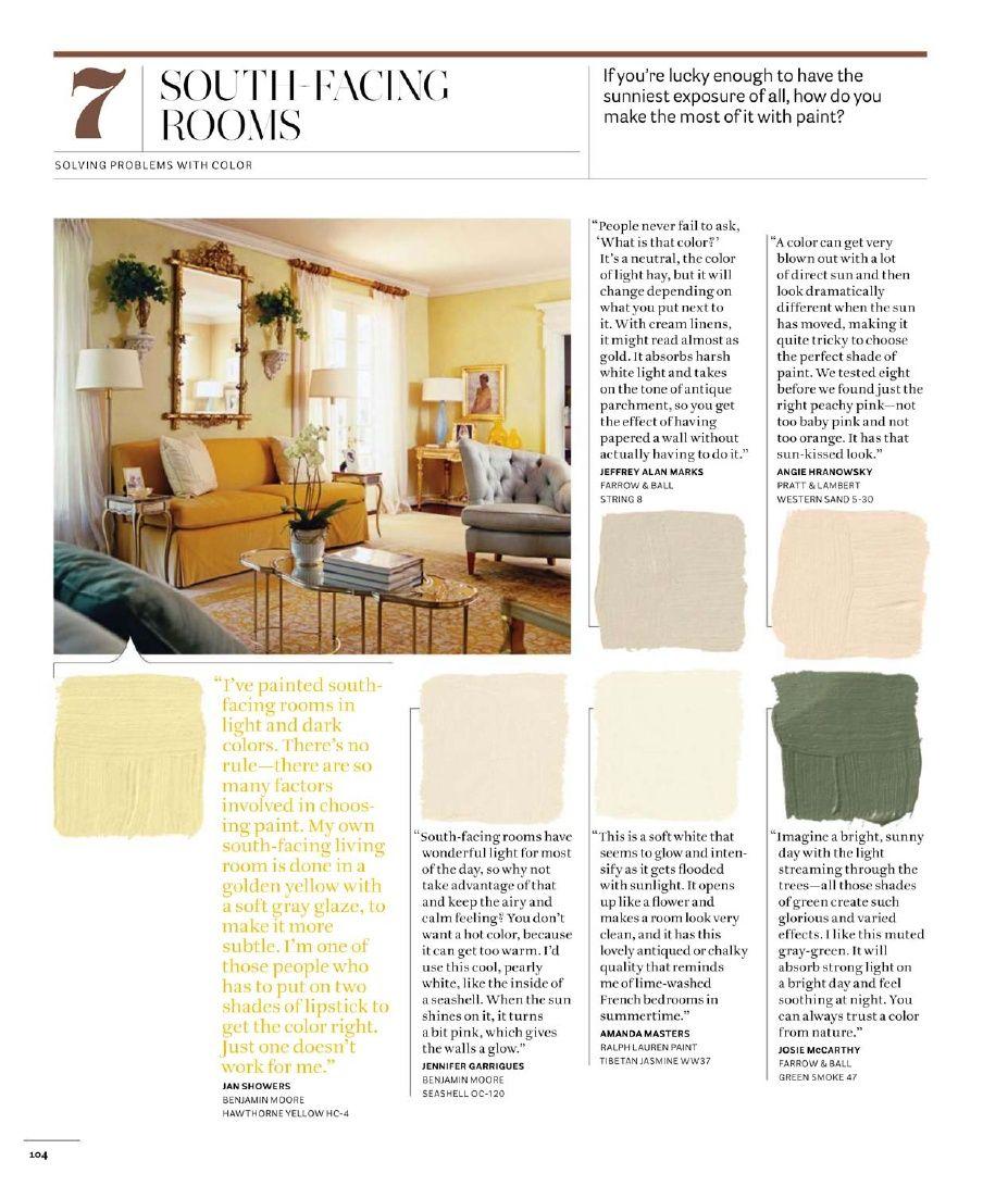 House Beautiful 500 Favorite Paint Colors Color Combos