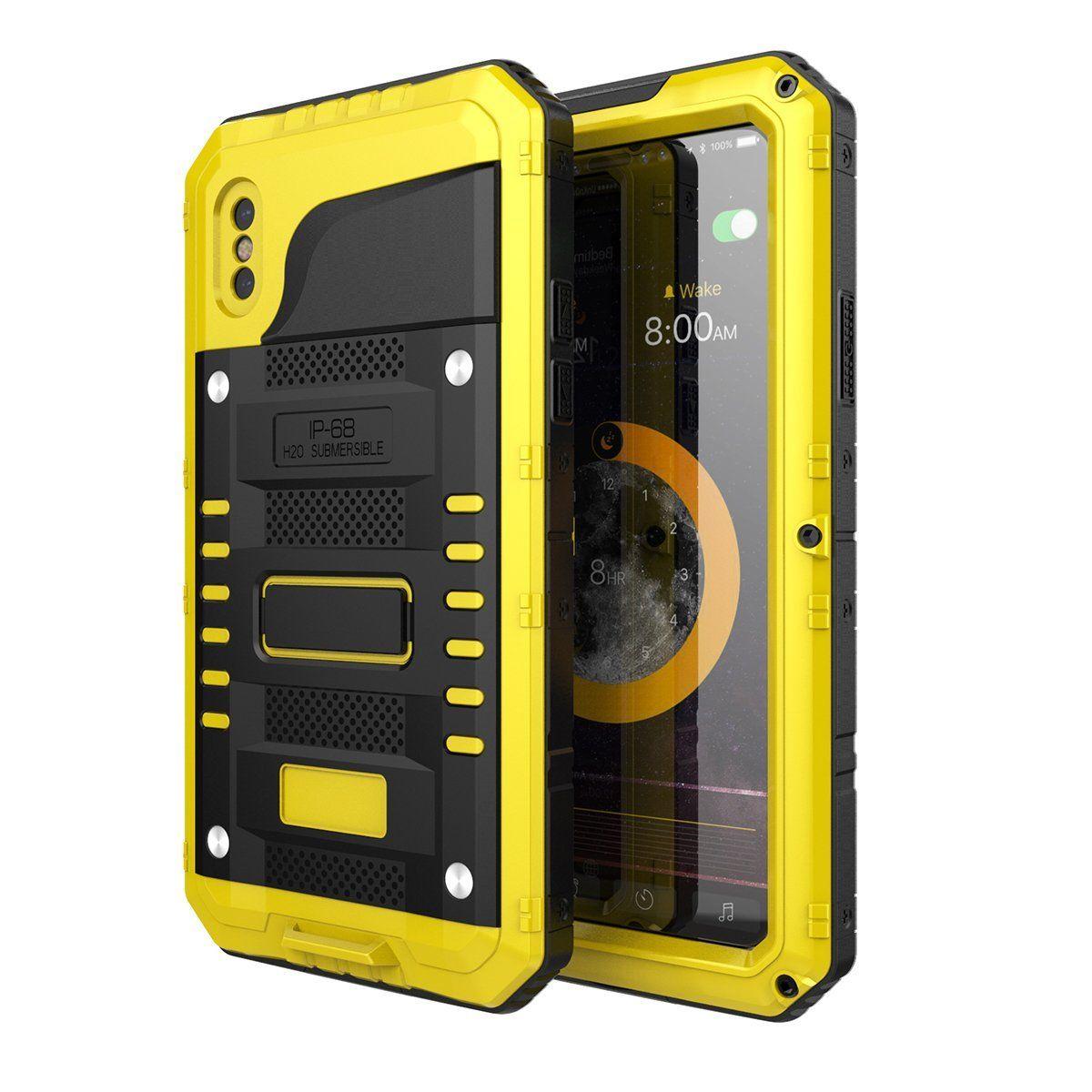 Aluminum alloy phone case fall resistant waterproof