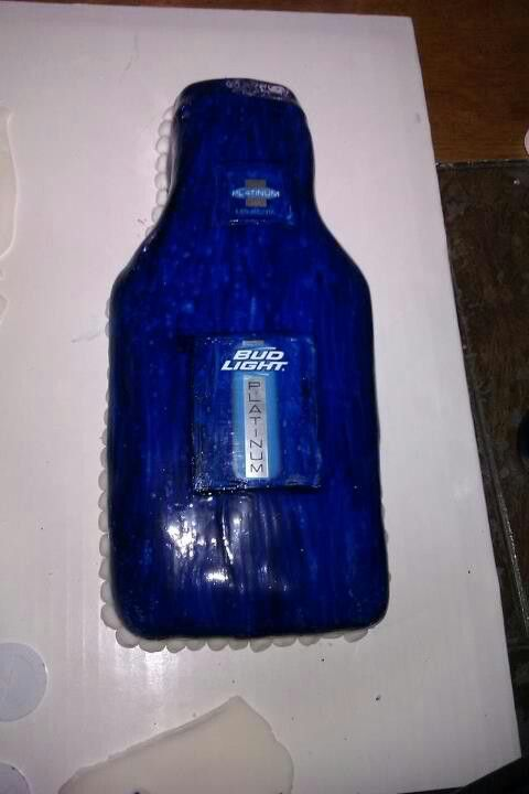 Bud Light Platinum Cake Carrieres Custom Cakes Cake Custom