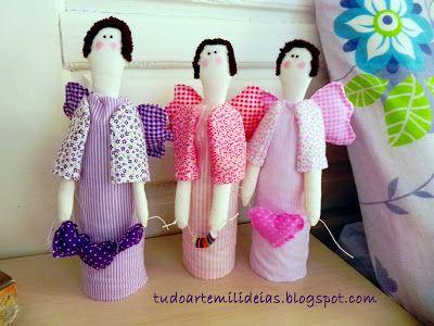 Arte e Mil Idéias...: bonecas
