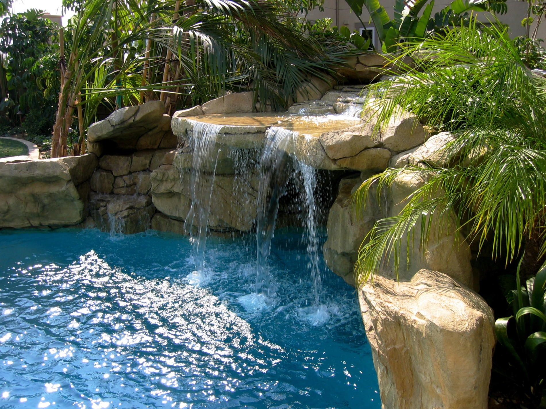 Pool Tropical Landscaping Ideas relaxing tropical pool decoration ideas tropical garden