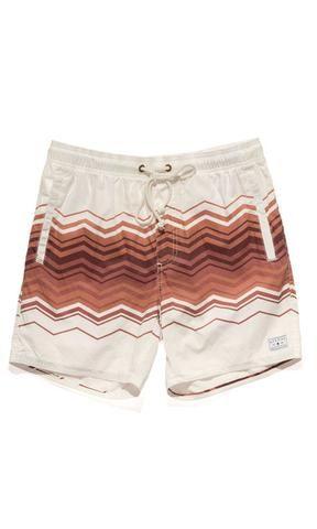 34c5713ed1 Afends Baywatch 70's Zag Swim Short - Fuel Clothing Baywatch, Swim Shorts,  Men's Collection