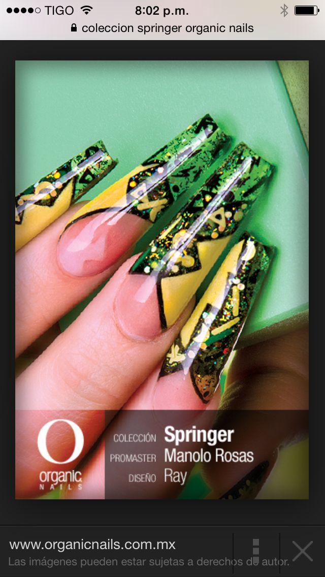 Uñas Esculturales de la colección SPRINGER | uñas | Pinterest | Uñas ...