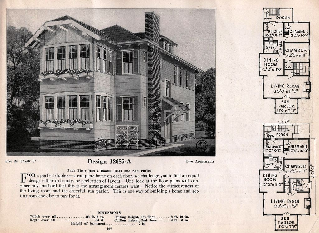Brown Company Homes Of Portland Maine By Ffshoe Traditional House Plans Vintage House Plans Modern Floor Plans