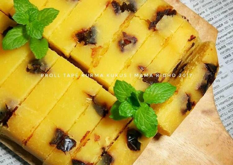 Resep Proll Tape Kurma Kukus Oleh Anita Rochmawati Resep Makanan Dan Minuman Resep Makanan Resep