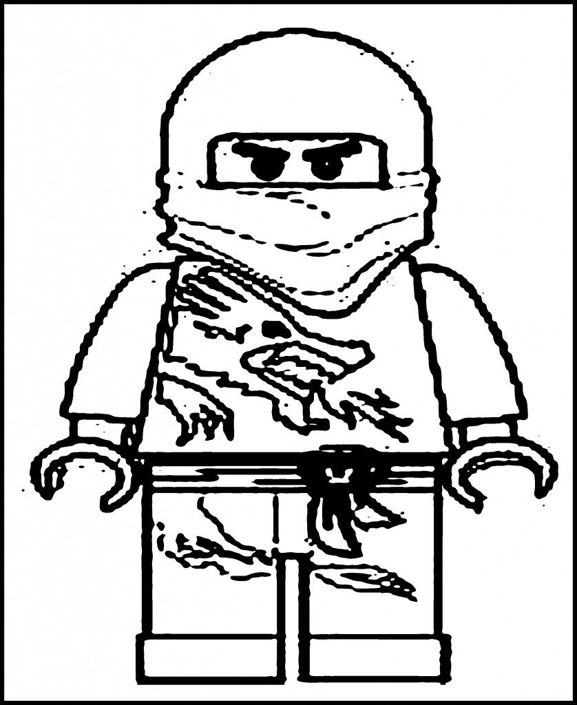 Ninjago coloring pages to color online - Free Printable Ninjago Coloring Pages For Kids