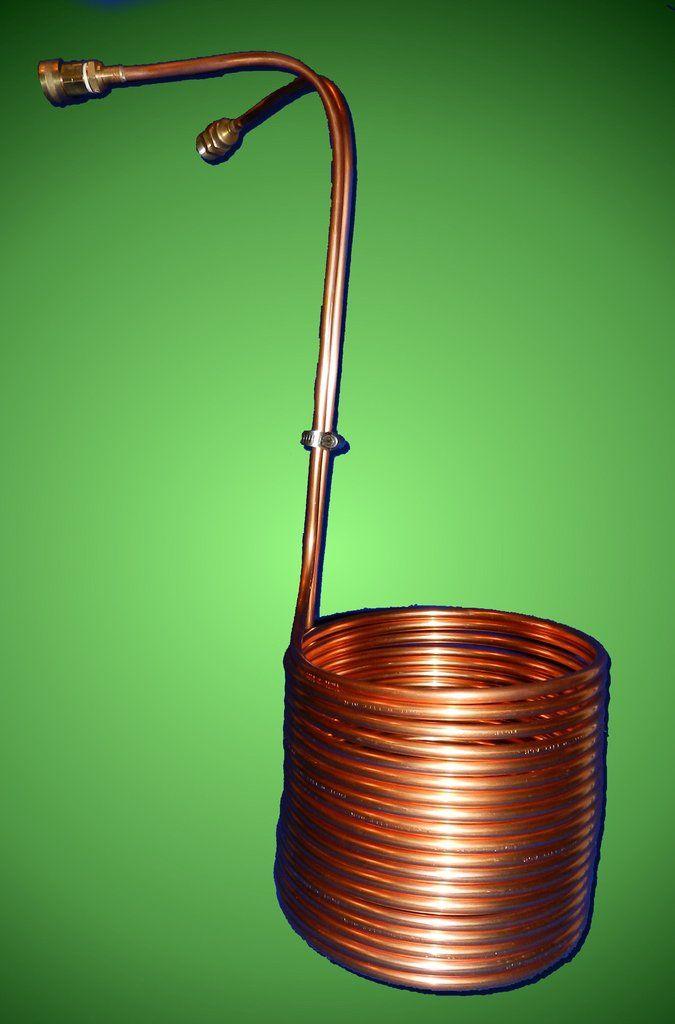50Ft. - Three Eighths Copper Immersion Wort Chiller