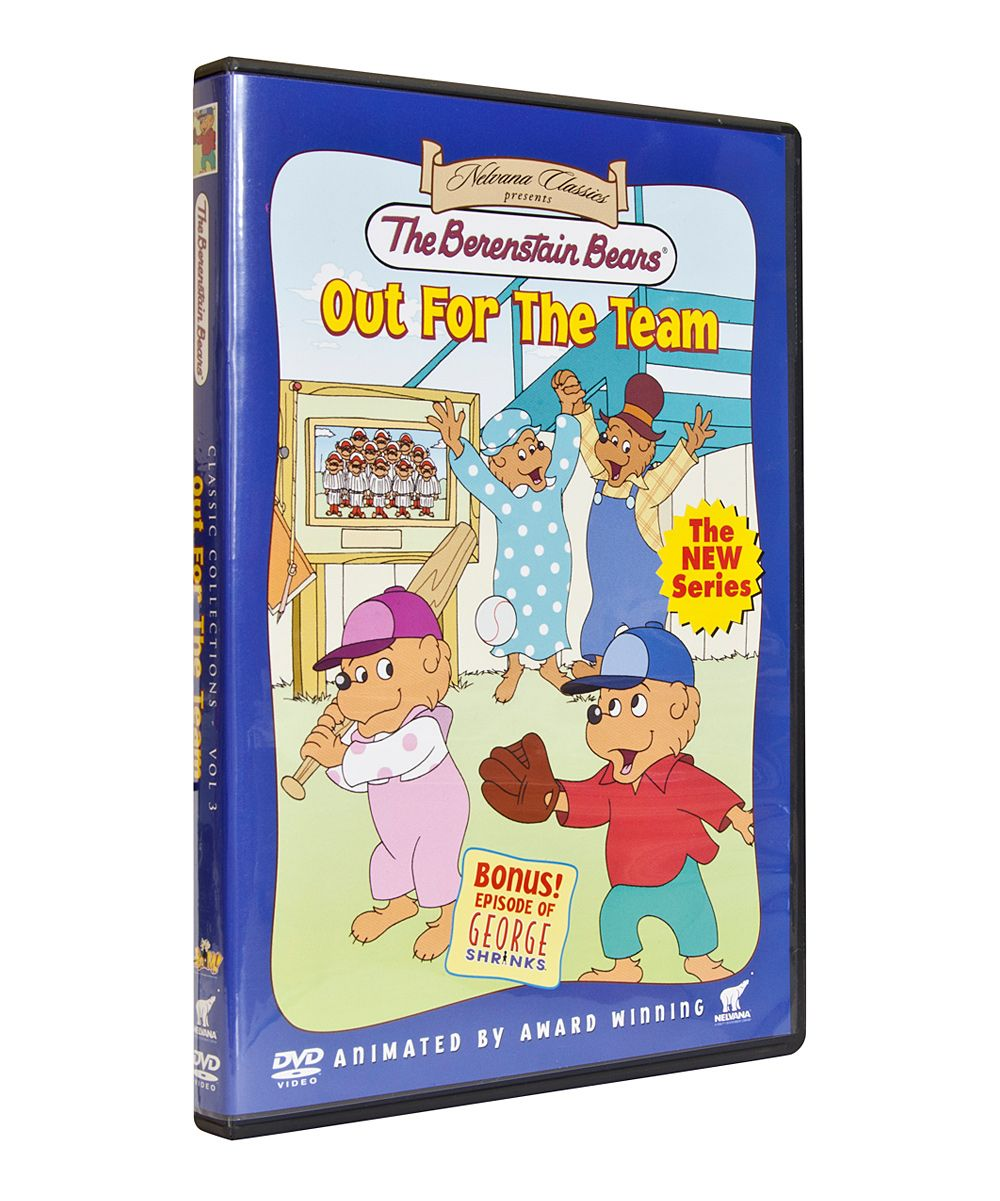 The Berenstain Bears: Out for the Team DVD | Bear movies! | Pinterest