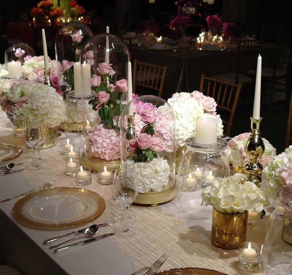 Celebrity Wedding Flowers Centerpieces